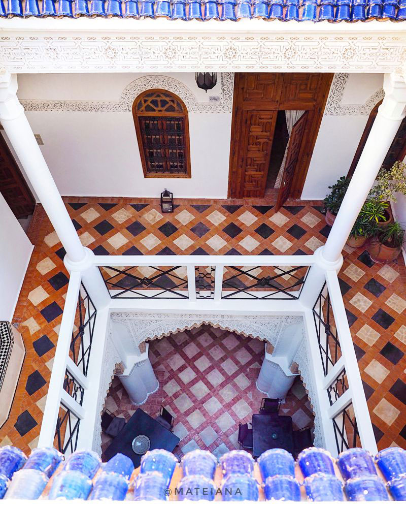 Riad-Dar-Soufa-in-Rabat---seen-from-above