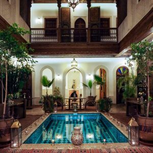 Riad-Melhoun-and-Spa-Marrakech-at-night