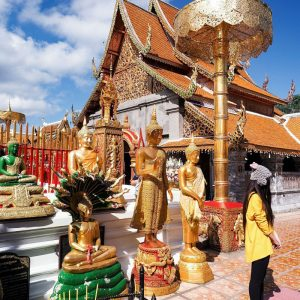 Wat-Phra-That-Doi-Suthep-in-Chiang-Mai