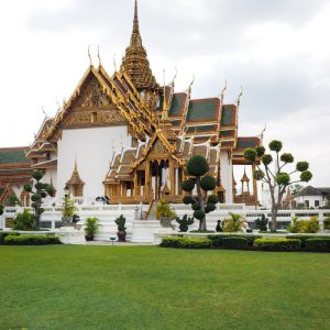Grand-Palace-Bangkok---Temples-and-bonsai-trees