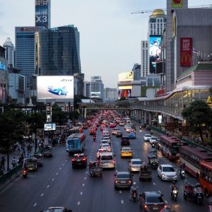 Traffic-in-Bangkok
