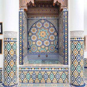 Marrakech-Museum---mosaic-fountain