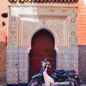 Streets-of-Marrakech---Mosaic-Door