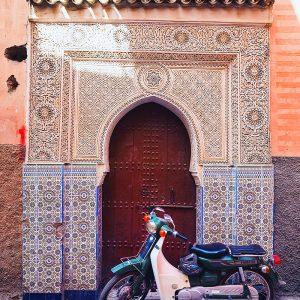 Streets-of-Marrakech---Mosaic-Door