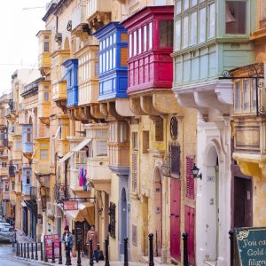 Colorful-Maltese-Balconies-in-Valletta