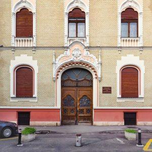 Rimanoczy Jr. Palace - facade