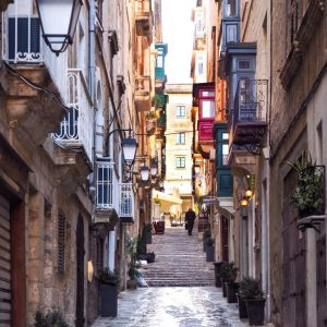 Streets-of-Valletta-and-Maltese-Timber-Balconies