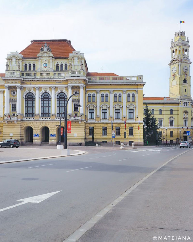 Oradea City Hall - Palace and Tower