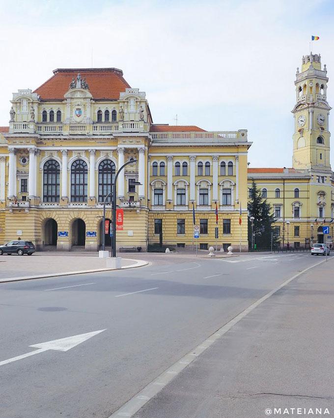 Oradea City Hall - Palace and Tower