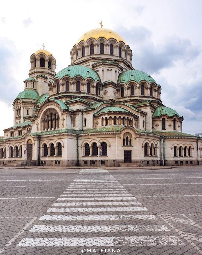St.-Alexander-Nevsky-Cathedral-Sofia,-Bulgaria