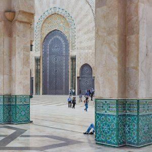 Hassan-II-Mosque,-Casablanca,-Morocco-
