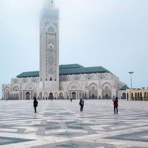 Hassan-II-Mosque-in-Casablanca---The-Tallest-Minaret-in-the-World