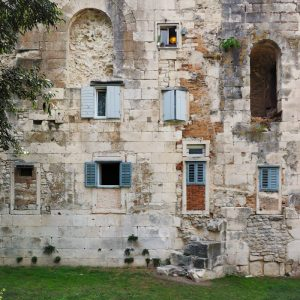 Diocletian-s-Palace-Walls-near-The-Golden-Gate