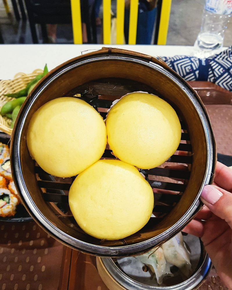 egg-custard-Bao---food-court-at-The-Shoppes-at-Marina-Bay-Sands