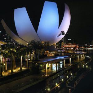 ArtScience-Museum-Singapore-by-Night