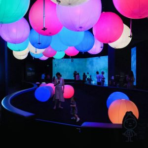 Future-World-by-teamLab---light-playground-for-kids---ArtScience-Museum-Singapore
