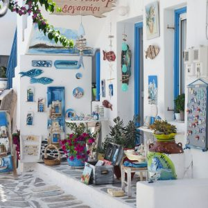 Beautiful shop -Old Town Naousa, Paros