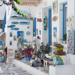 Beautiful shop -Old Town Naousa, Paros