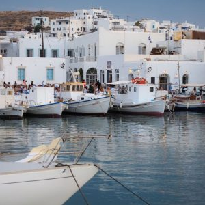Old Port of Naoussa - Paros, Cyclades, Greece